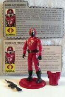 Vintage Hasbro GI Joe 1985 Cobra Crimson Guard-Complete W/ V1-V2 File Cards NM+!