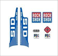 ROCK SHOX SID XC DUAL AIR  FORK / SUSPENSION DECAL SET