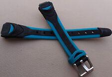 Womens Sport Timex Water Resistant Black w/Deep Teal Sport Watch Band 12mm