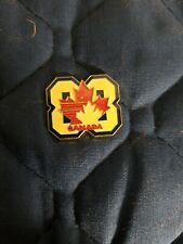 1988 Hockey Enamel Collectors Pin Canada Maple Leaf
