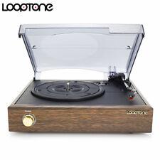 LoopTone  Retro Vintage  3 Speed  Vinyl Turntable  LP Record Player