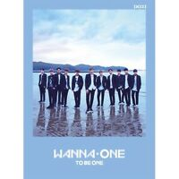 Wanna One 1st Mini album [1x1=1 To Be One] Sky Ver. CD+Poster+Card+Booklet