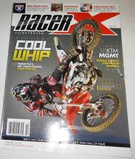 Racer X Magazine Stefan Everts' & Todd Potter February 2011 071714R1