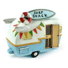 Miniature Dollhouse FAIRY GARDEN - Surf Shack Camper - Accessories