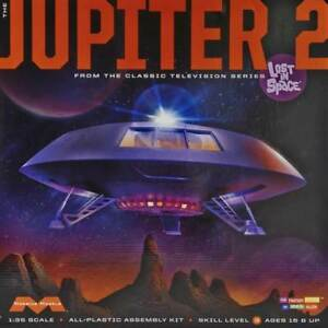 Moebius 1/35 Scale Jupiter 2 Plastic Model Kit 913 MOE913