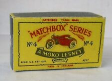 REPRO BOX MATCHBOX 1:75 n. 36 LAMBRETTA and sidecar anziano