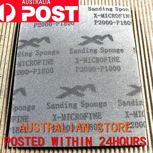 XM Softback Sanding Sponge - Ultrafine #1800—#2000 Grits (Size: 114mm x 139mm)