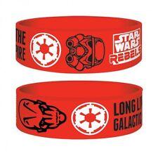 Junior Gummi Armband STAR WARS REBELS - Galactic Empire ca55x25mm NEU Wristband