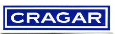 vtg hot rod sticker Cragar Wheels Drag Race 70's nos old speed shop