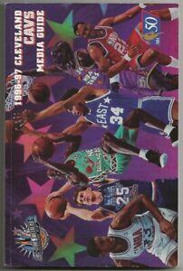 1996-97 Cleveland Cavaliers NBA Basketball Media Guide