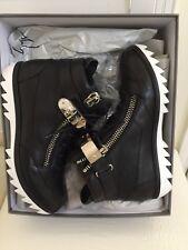 GIUSEPPE ZANOTTI Men Sneakers Shoes Lindos Vague Hi Top IT-42 $1415 AuthenticNew