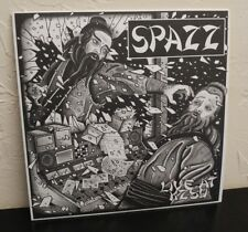 Spazz Live at KZSU 1999 LP NEW white vinyl crossed out infest MITB