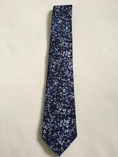 Paul Smith 6cm Lame = Floral étroit Cravate = 100% SOIE = Fait en Italie