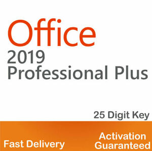 ❤️MS®Office PROFESSIONAL PLUS 2019 PRO 32/64 BIT ❤️LICENSE KEY ✔️INSTANT DELIVER