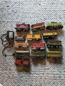 Prewar American Flyer Train Set, Lot of 12 Cars