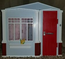 2005 Barbie Fold-Out Totally Real Sounds DollHouse-Doorbell Kitchen Bathroom +
