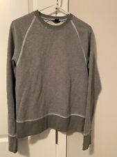 Club Monaco Sweatshirt Grey XS Soft & Warm!