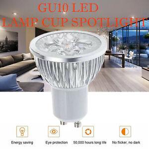 3W GU10 LED Bulbs Spotlight Lamps Warm Cool Day White Down lights 240V