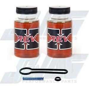 ~ Ford 6.0L Powerstroke Diesel Blue Spring Kit & 2 REV-X Oil Additive 4 oz. ~