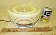 VINTAGE MID CENTURY ATOMIC RETRO  UFO DECO CEILING BATH KITCHEN  LAMP  NICE
