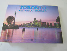 2 mini postcard albums Toronto & Ottawa Canada