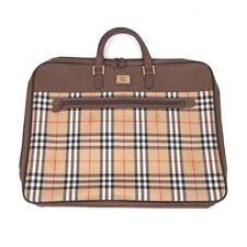 BURBERRY Nova check Garment Bag(K-70346)