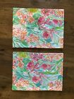2 custom made Lilly Pulitzer place mats