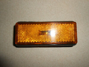 FIAT X1/9 124 128 850 Lancia Beta Scorpion Amber Front Side Marker Light-Used