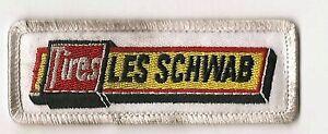 Les Schwab Tires advertising employee patch 1-1/4X3-1/2 Colorado stores #1541