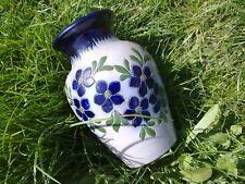 Grand vase Fortuné Schmitter, grès au sel de Betschdorf (H:26 cm Diam: 18 cm)