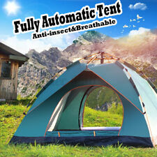 3-4 People Fully AutomaticTent Rainproof Camping Double Single-Layer Tent