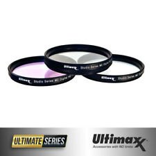 43mm 3-Piece Multi-Coated HD UV / CPL / FLD Filter Set 43mm by ULTIMAXX