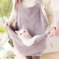 Pet Dog Cat Carrier Travel Shoulder Bag Sling Front Backpack Soft Plush Pouch