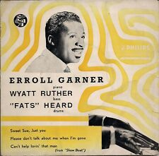 "Erroll Garner I Can't Get Started UK 45 7"" EP +Picture Sleeve +Lullaby In Rhythm"