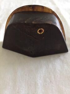 Rare Empire Era French Molded Tortoiseshell & Horn Snuff Box Of Napoleon's Hat