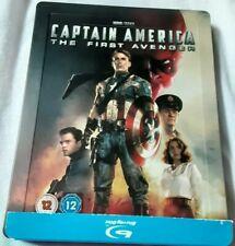 Captain  America The first Avenger Steelbook blu-ray Zavvi 1ÈRE ÉDITION