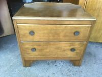 Vintage Antique Lebus Freestanding Wooden Chest of Drawers