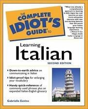 The Complete Idiots Guide to Learning Italian