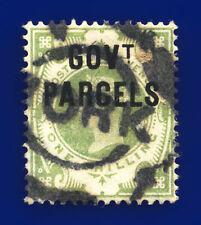 More details for 1890 sgo68 1s dull green govt parcels l29 york fair used cat £275 djpj