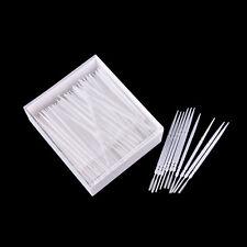300 Pcs Plastic Dental Picks Oral Hygiene 2 Way Interdental Brush Tooth Pick F@