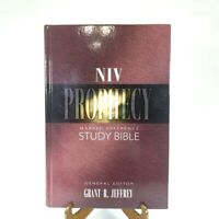 NIV Prophecy Marked Reference Study Bible Grant R. Jeffrey Zondervan Hardcover