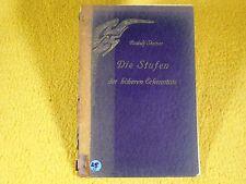 Rudolf Steiner - Die Stufen der höheren Erkenntnis - 1931 - Anthroposophie