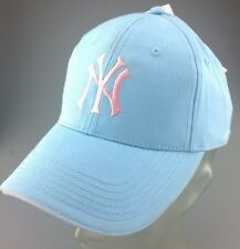 Official licensed NY Yankees Baseball adjustable Cap Light Blue with Pink NY