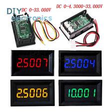 """0.36""""5Digit DC0-33.000V/0-4.3000-33.000V Precision Digital Voltmeter Panel Meter"""