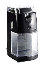 Espressomühle: Elektrische Kaffeemühle mit hochwertigem Scheibenmahlwerk NEU