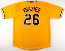 Adam Frazier Signed Pittsburgh Pirates Jersey (TSE COA) 2nd Year Outfielder