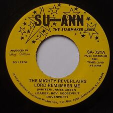 MIGHTY REVERLAIRS: Lord Remember Me SU-ANN Black Gospel 45 NM- HEAR