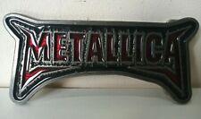 Metallica Logo Heavy Metal Belt Buckle Rock Metal Band Music