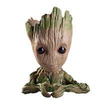 "6"" Inch Pen Holder Toy Baby Groot Flower Pot Succulent Planter Decoration"