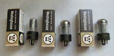(3) Matched Code Westinghouse 12SL7GT Vacuum Tubes 66-52 Hickok Tested Good